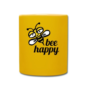 Be happy as a bay bee - Full Colour Mug