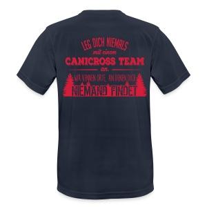 Canicross Shirt Sport Männer - Männer T-Shirt atmungsaktiv