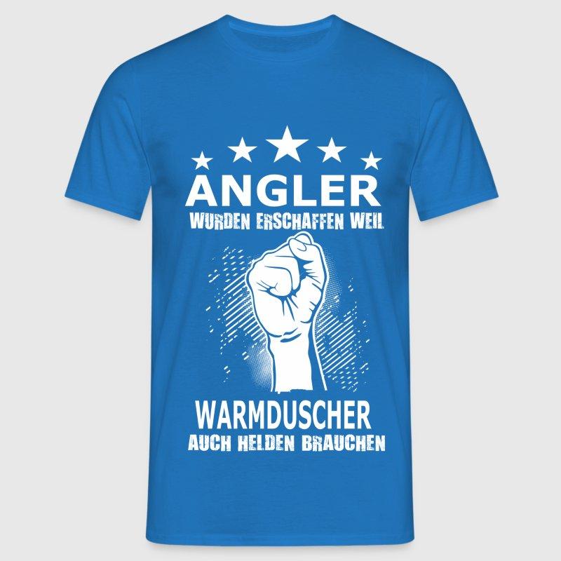 angler warmduscher t shirt spreadshirt. Black Bedroom Furniture Sets. Home Design Ideas
