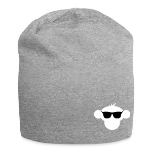 Munkimotion Jersey Beanie : heather grey - Jersey Beanie