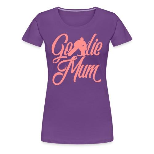 Hockey Goalie Mum Premium T-Shirt - Women's Premium T-Shirt