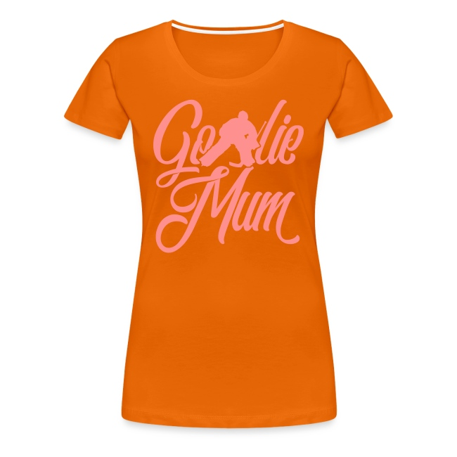 Hockey Goalie Mum Premium T-Shirt