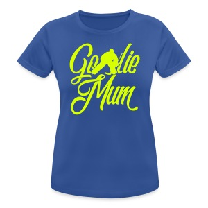 Hockey Goalie Mum Breathable T-Shirt - Women's Breathable T-Shirt