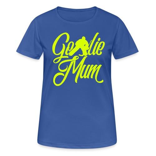 Hockey Goalie Mum Breathable T-Shirt - Women's Breathable T-Shirt