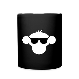 Munkimotion Full Colour Mug : black - Full Colour Mug