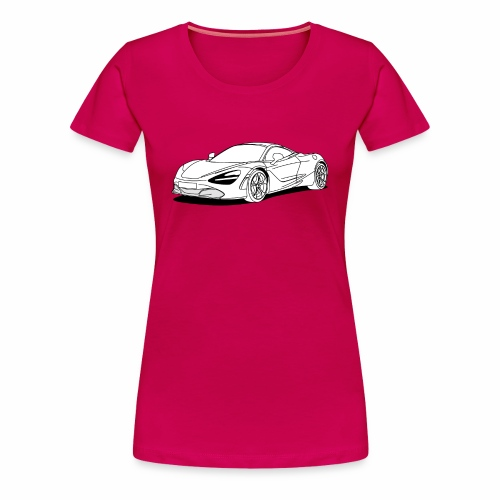 720s Coupe White - Women's Premium T-Shirt