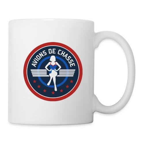Mug Avions de chasse - Mug blanc