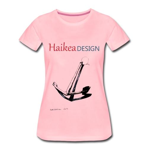 Ankkuripaita naisille - Naisten premium t-paita