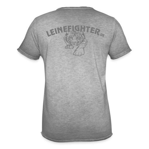 Männer Vintage Shirt Tiger - Männer Vintage T-Shirt