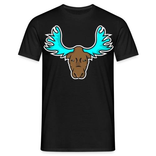 Albert the Moose Male T-Shirt - Men's T-Shirt