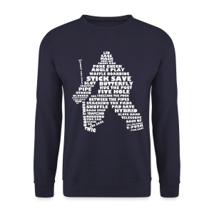 Hockey Goalie Terminology Men's Sweatshirt - Men's Sweatshirt