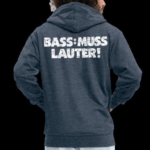 BASS MUSS LAUTER (Vintage/Weiß)