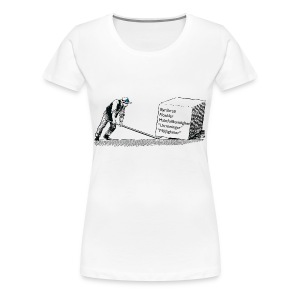 Oberoende Hävstång Dam - Premium-T-shirt dam