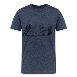Oberoende Hävstång Herr - Premium-T-shirt herr