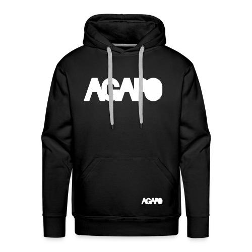 agapo w/b - Männer Premium Hoodie