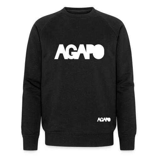 agapo w/b - Männer Bio-Sweatshirt von Stanley & Stella