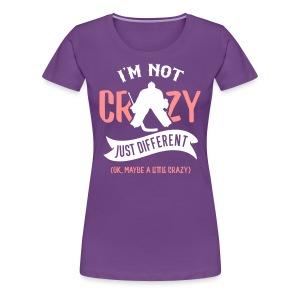 I'm Not Crazy, Hockey Goalie