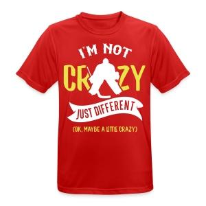 I'm Not Crazy, Hockey Goalie Men's Breathable T-Shirt - Men's Breathable T-Shirt