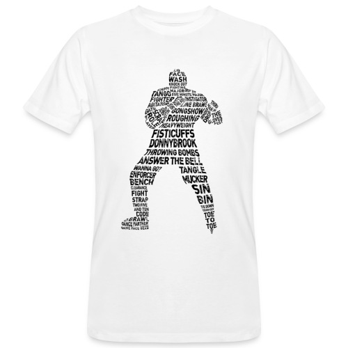 Hockey Fight Lingo (black print)
