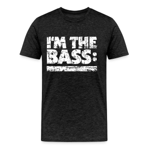 I'M THE BASS Vintage White Line