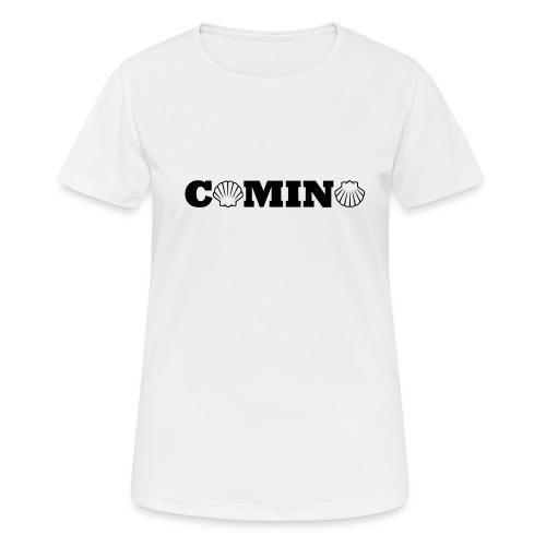 Camino - Sports T-shirt - Dame T-shirt svedtransporterende