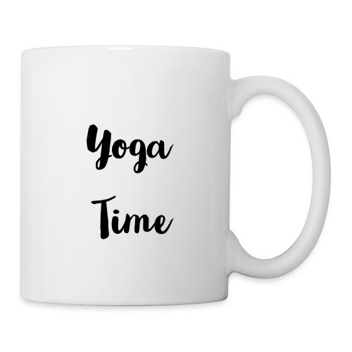 Mug yoga time - Mug blanc
