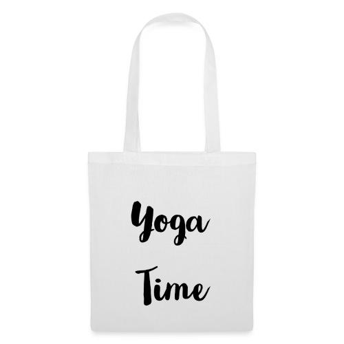 Tote bag yoga time - Tote Bag