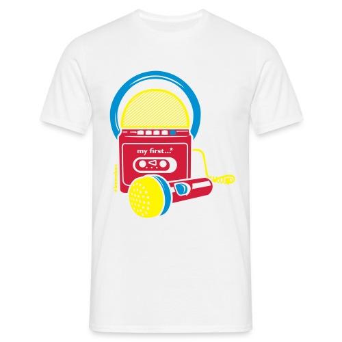 Boombox - Mannen T-shirt
