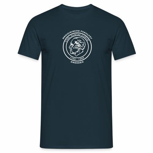 Carl Gustav Carus - Basic Shirt für Jungs (weißes Logo) - Männer T-Shirt