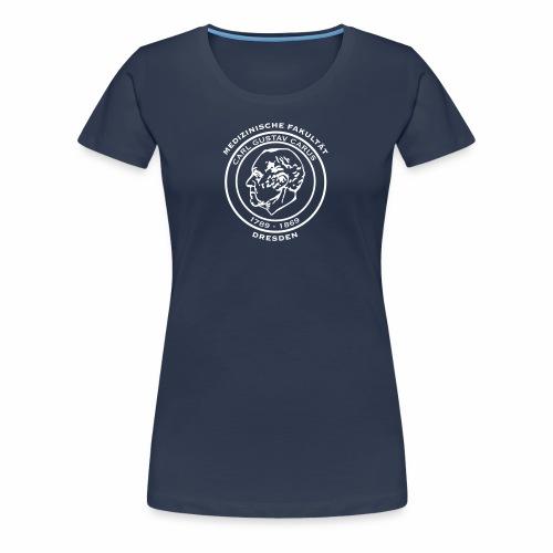 Carl Gustav Carus - Basic Shirt für Mädels (weißes Logo) - Frauen Premium T-Shirt