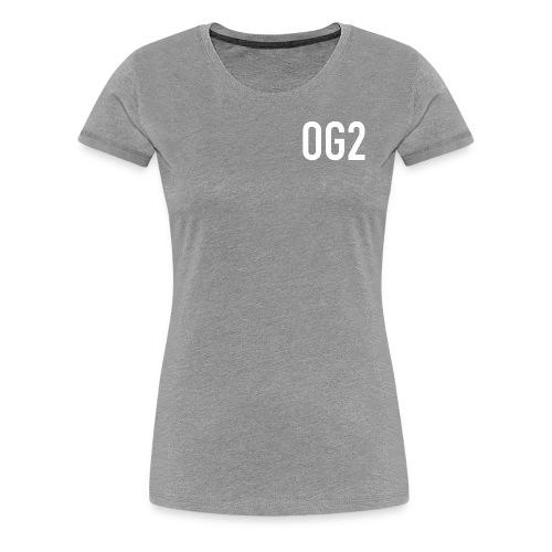 Women's Premium T Shirt : heather grey - Women's Premium T-Shirt