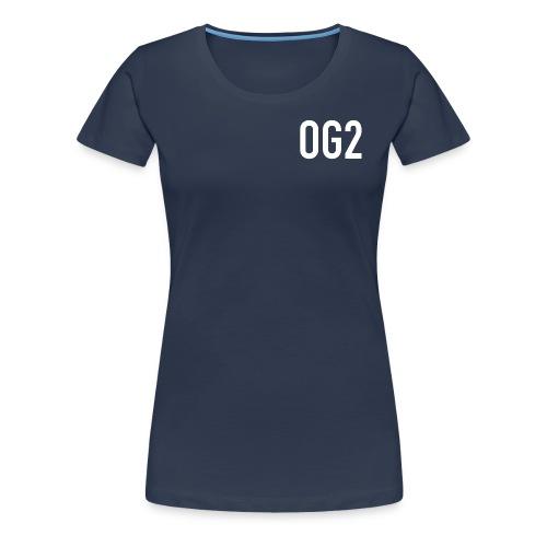 Women's Premium T Shirt : navy - Women's Premium T-Shirt
