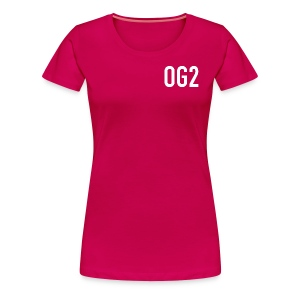 Women's Premium T Shirt : dark pink - Women's Premium T-Shirt