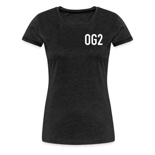 Women's Premium T Shirt : charcoal gray - Women's Premium T-Shirt