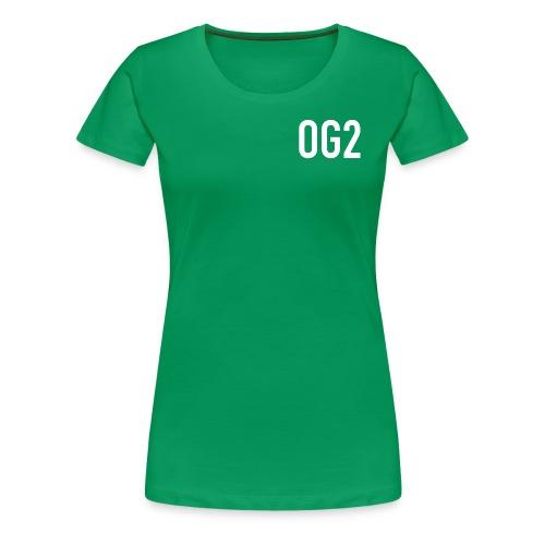 Women's Premium T Shirt : kelly green - Women's Premium T-Shirt