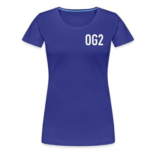 Women's Premium T Shirt : royal blue - Women's Premium T-Shirt