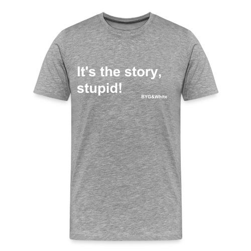 StoryStupid - Men's Premium T-Shirt