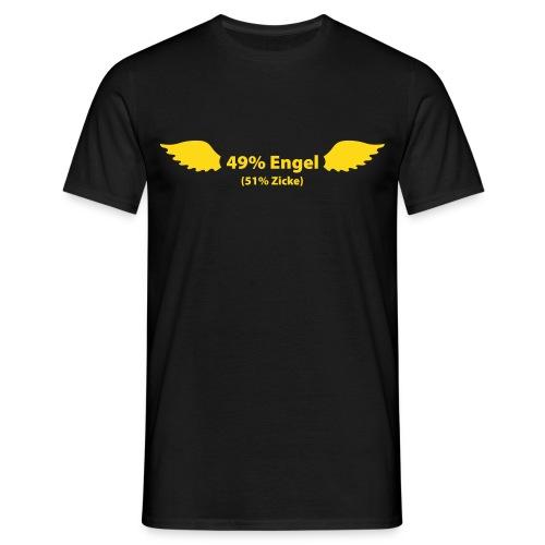 49% Engel - Männer T-Shirt