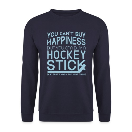 You Can't Buy Happiness (Hockey) Men's Sweatshirt - Men's Sweatshirt