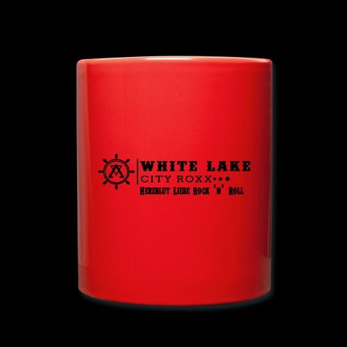 Herzblut Tasse - Tasse einfarbig