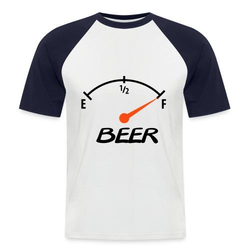 t-shirt fuel01 - Maglia da baseball a manica corta da uomo