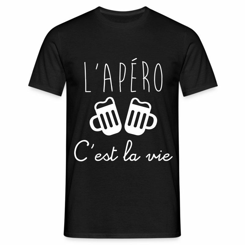 L'apéro c'est la vie - T-shirt Homme