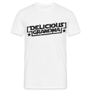 Männer T-Shirt Textonly - Männer T-Shirt