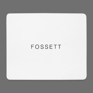 Fossett Gaming Official Mouse Mat - Mouse Pad (horizontal)