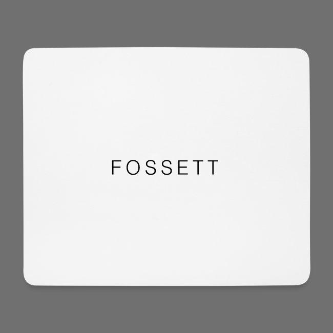 Fossett Gaming Official Mouse Mat