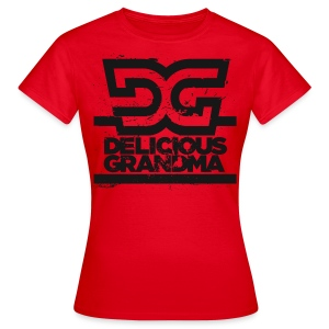 Frauen T-Shirt - DG Black - Frauen T-Shirt