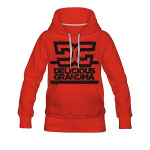 Frauen Hoodie - DG Black - Frauen Premium Hoodie