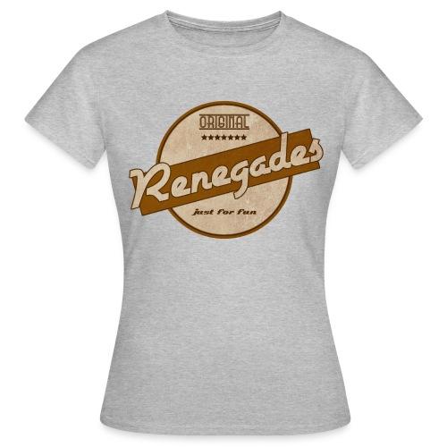 Damen T-Shirt Retro 2.0 im Vintage Stil - Frauen T-Shirt