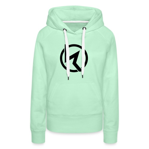 KLP Black Logo Girls Hoodie  (verschied. Farben) - Frauen Premium Hoodie
