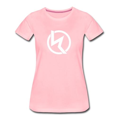 KLP White Logo Girls Tee (verschied. Farben) - Frauen Premium T-Shirt